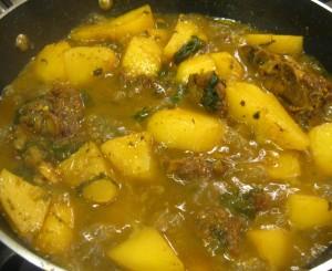 Curry Lamb