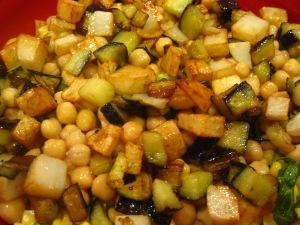 Layered Pita Eggplant Salad with Yogurt Dressing « The Levantess