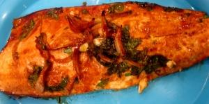 Soy Maple Salmon - The Levantess