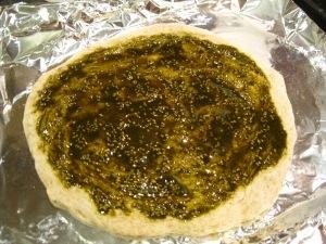 Manakeesh-Zaatar Pizza - The Levantess