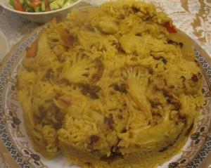 Chicken Maqlouba with Cauliflower | The Levantess