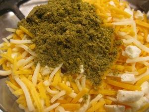 Zaatar Cheese Pizza | The Levantess