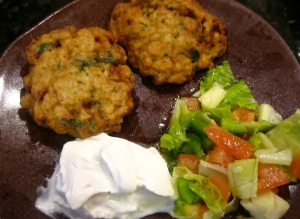 Cauliflower Fritters – Emshaat | The Levantess