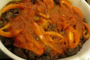 Artichoke Msaka'a Finished dish