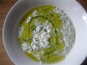 Ramadan-Sample Iftar Menu #3 -Bakdounsiya - Parsley Tahini Dip |The Levantess